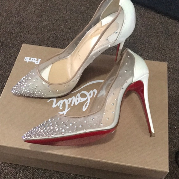 louboutin follies strass